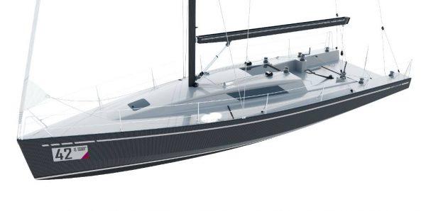 Le JND 39, une approche radicale de la jauge IRC : moins de 5 tonnes de déplacement pour près de 40 pieds de long.