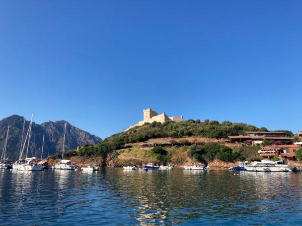 Le port-mouillage de Girolata